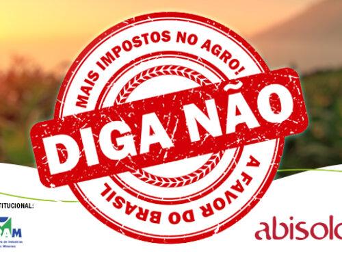 Abisolo e ASBRAM Lançam Campanha de Comunicação Contra o Aumento de Impostos no Agro